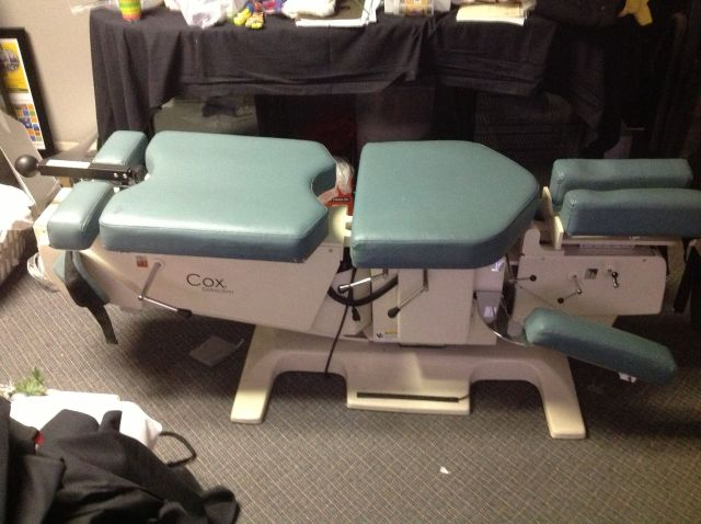 Cox Flexion Distraction Chiropractic Table Auction