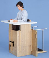 Hausmann Stand In Table 6100 Physical Therapy Unit For Sale