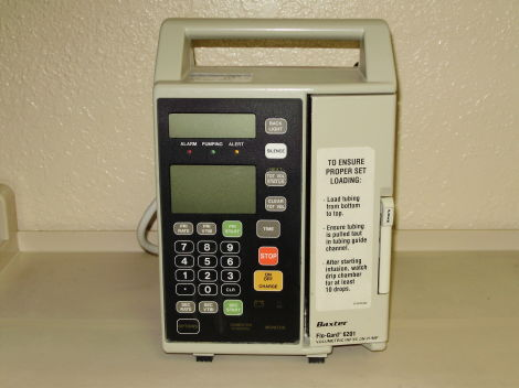 Baxter 6201 Infusion Pump — pi veterinary consultants