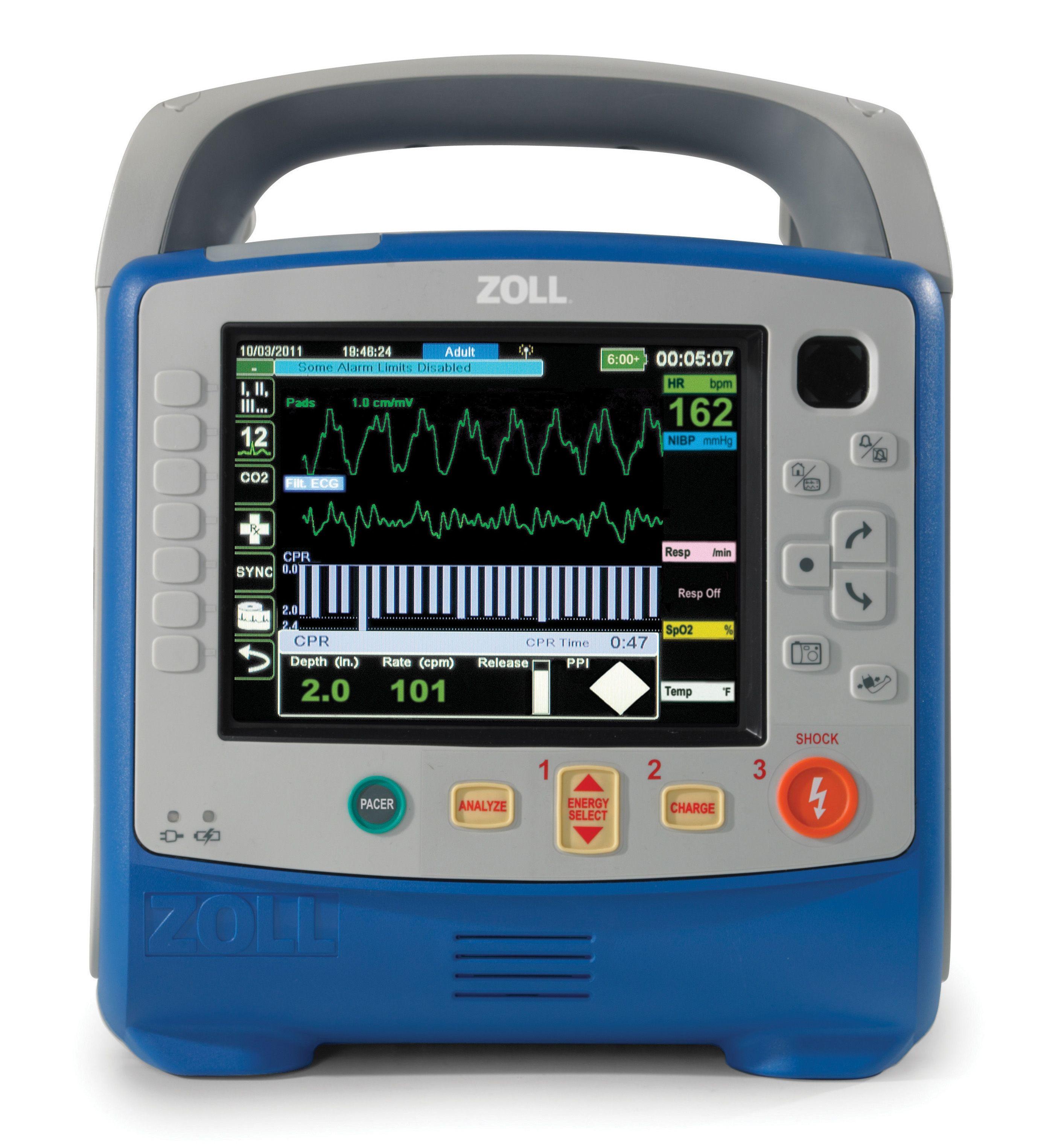 Zoll X Series Defibrillator Model Information