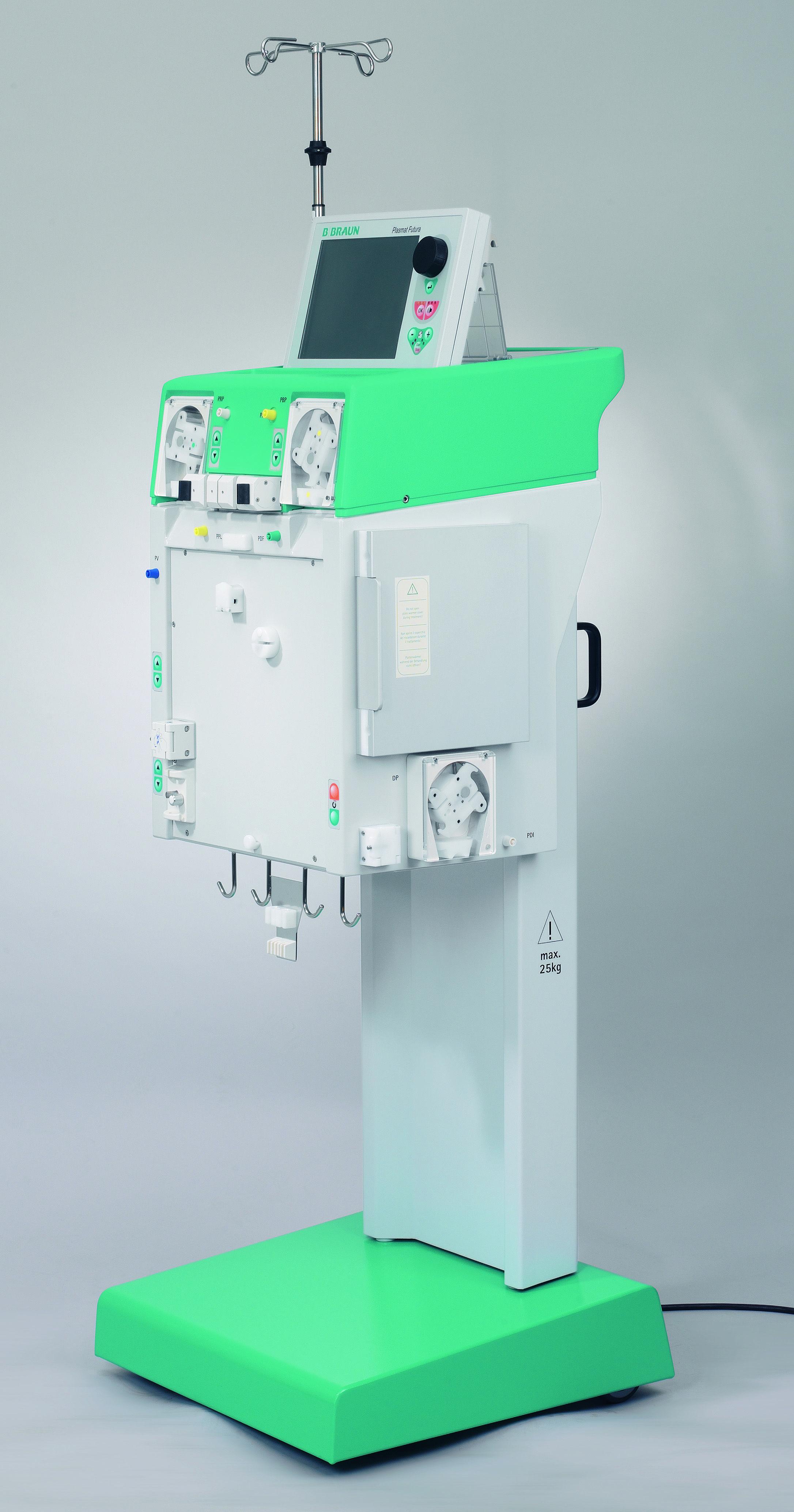 B Braun Plasmat Futura Dialysis Machine Model Information