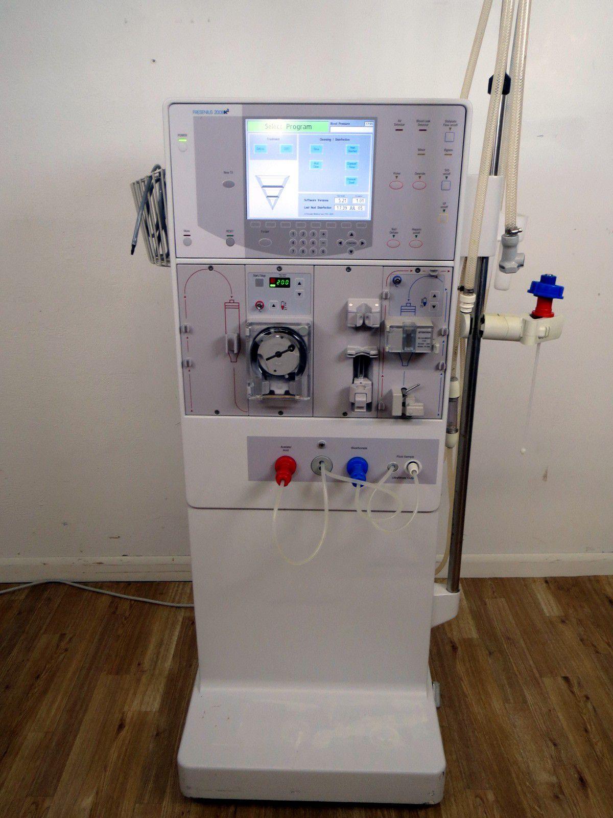 Fresenius 2008k2 Dialysis Machine Model Information