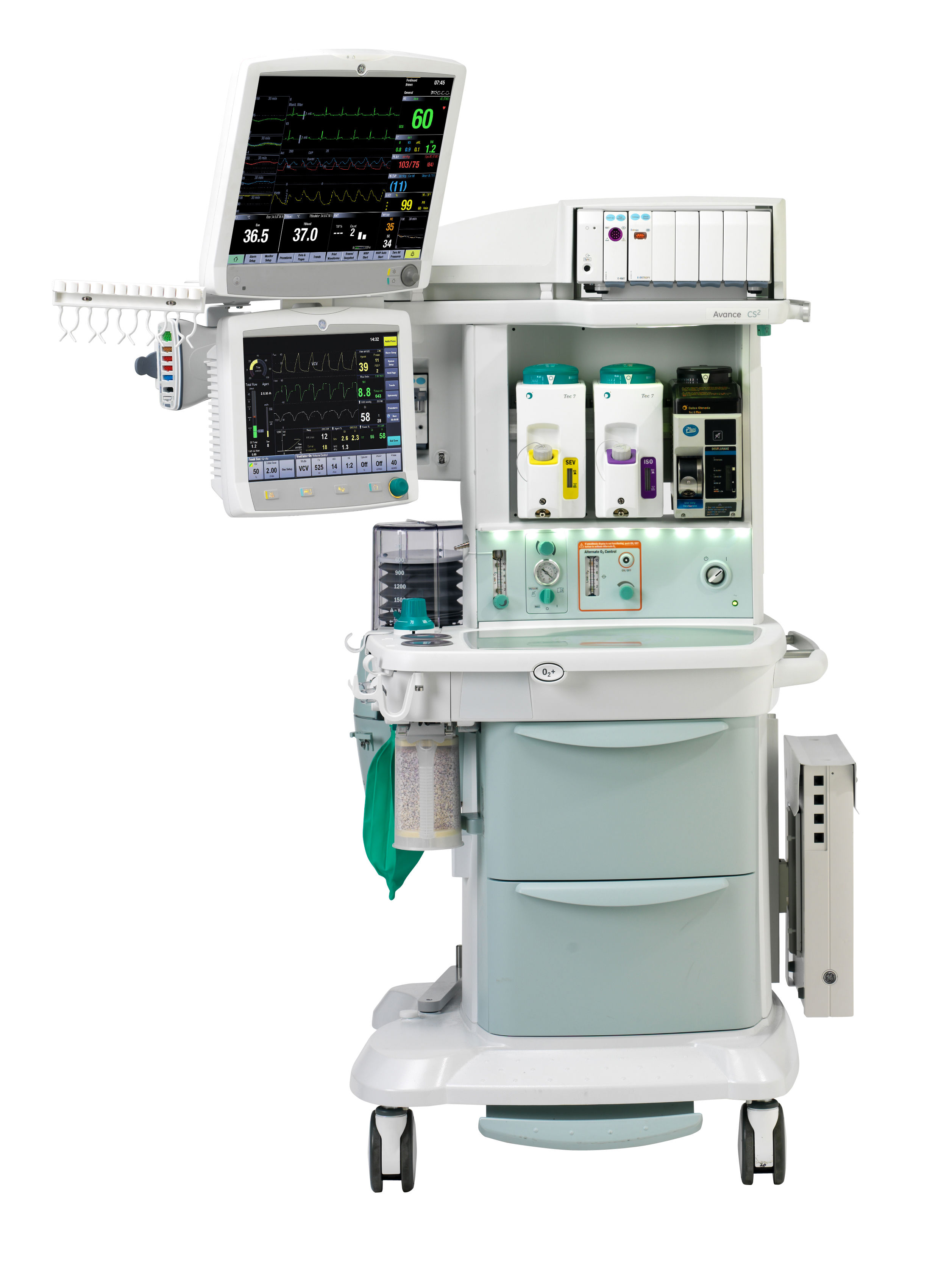 Ge Healthcare Avance Cs Anesthesia Machine Model Information