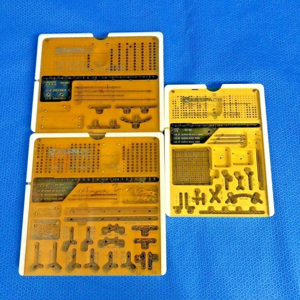 ANSPACH 914-380 TMP Micro Instrument Fragment Set
