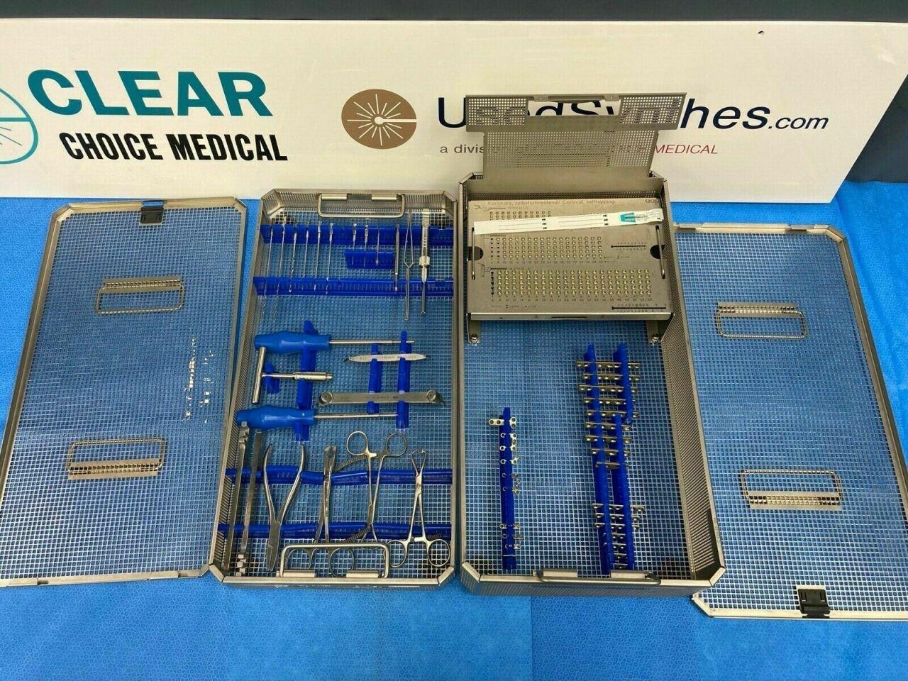 AAP STRYKER Titanium Mini Fragment Instrument Set Orthopedic Trauma