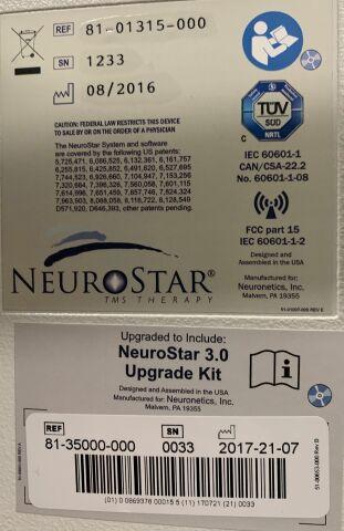 NEURONETICS NeuroStar System 2016