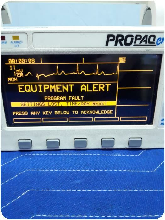 PROTOCOL SYSTEMS INC. PROPAQ 202EL Multiparameter Patient Monitor