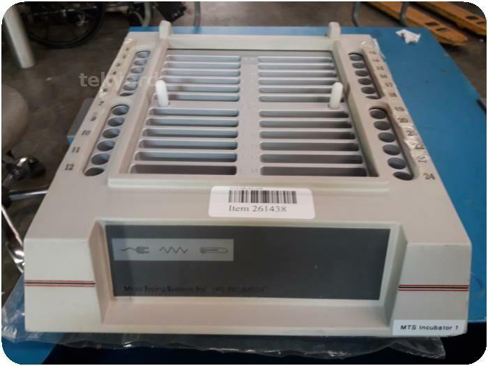 MICRO TYPING SYSTEM INC. MTS DG-225 Incubator