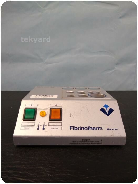 BAXTER FIBRINOTHERM Heating stirring Device