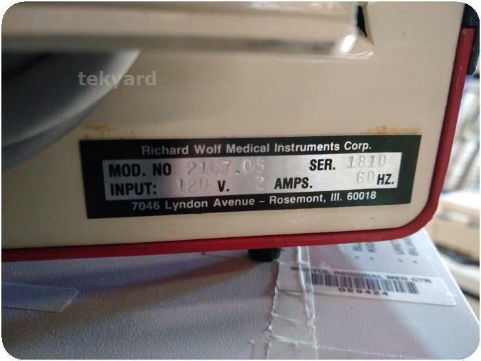 RICHARD WOLF Wolf 2167.05 Ultrasonic Lithotripter