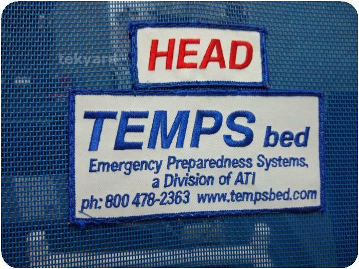 EPS TB 100 TEMPS Triage & Emergency Management Preparedness System Bed Stretcher