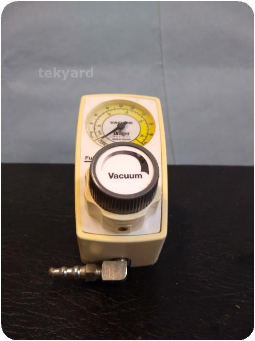DRAGER Medical Regulator Vacuum Equipment