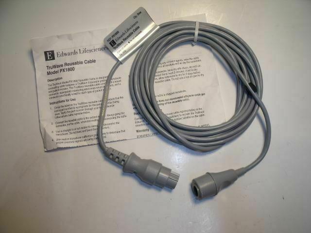 EDWARDS LIFESCIENCES 896034021  TRUWAVE REUSABLE CABLE PX1800