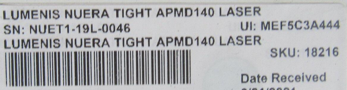 LUMENIS Neura Tight APMD140 Laser - Holmium