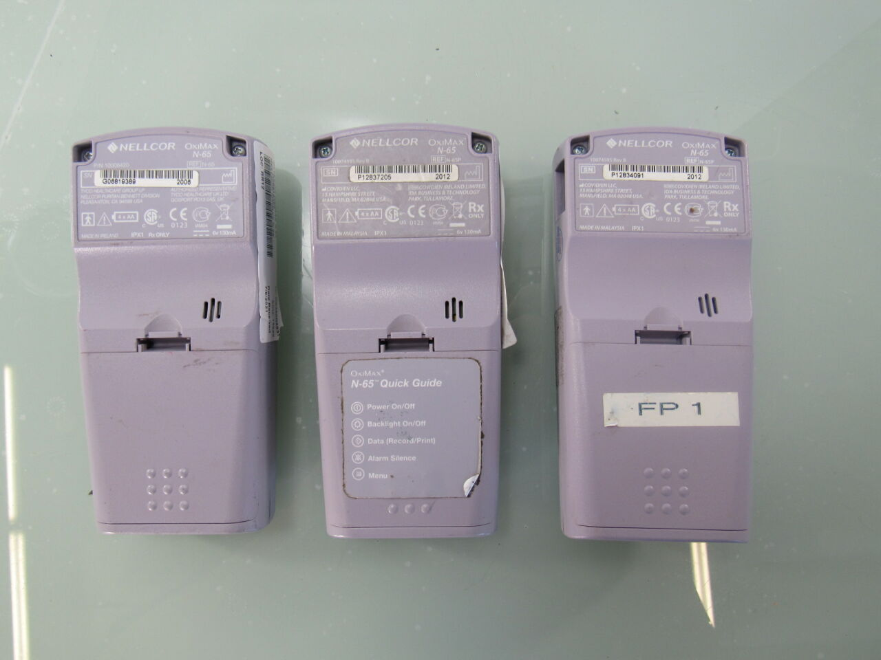 NELLCOR Oximax N-65  - Lot of 3 Oximeter - Pulse