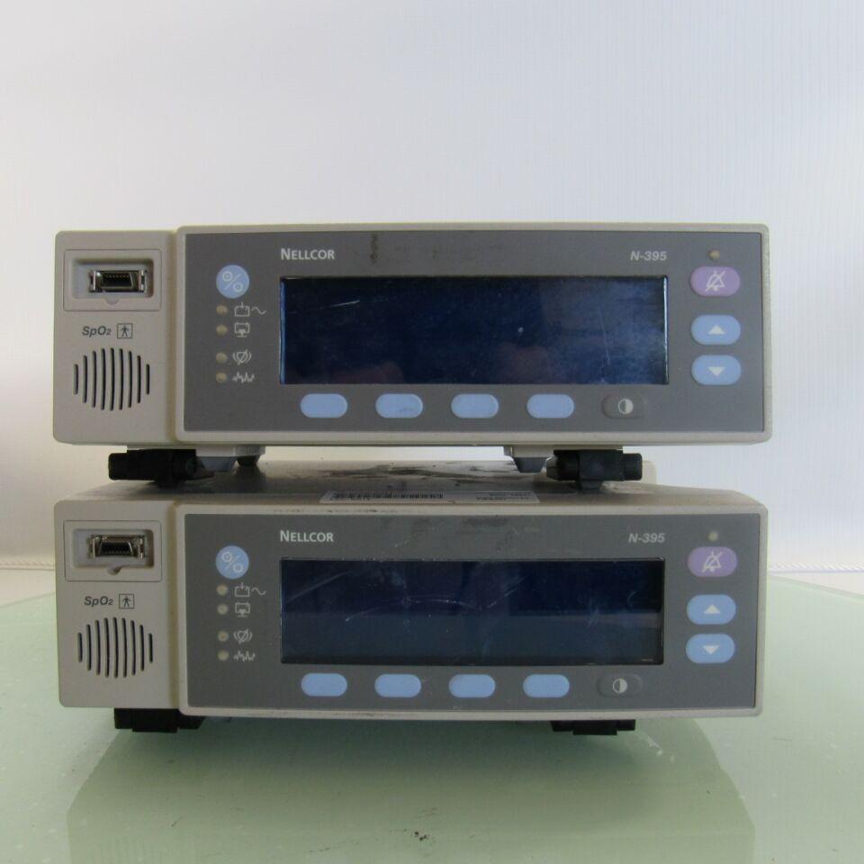 NELLCOR N-395  - Lot of 2 Oximeter - Pulse