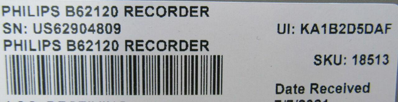 PHILIPS B62120 Recorder  - Lot of 3 Module