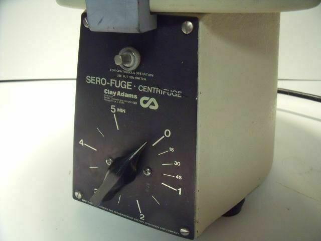 CLAY ADAMS SERO-FUGE      Centrifuge