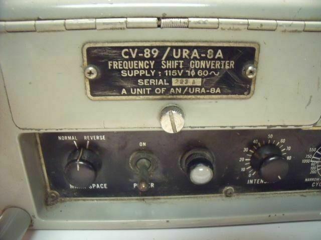 HOFFMAN CORP CV-89/URA-8A CV-89