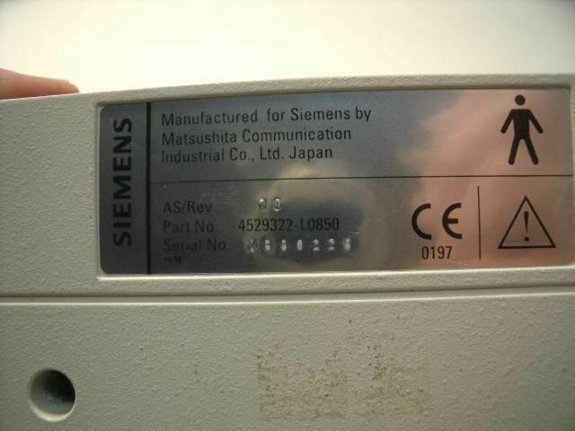 SIEMENS 4529322-L0850 3.5C 70S    Ultrasound Transducer