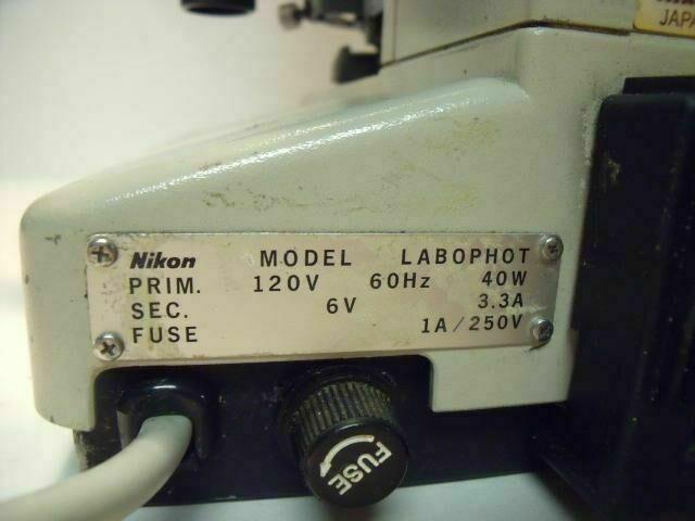 NIKON LABOPHOT 216598    Microscope