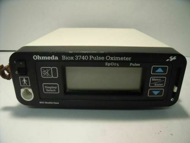 OHMEDA BIOX 3740     Oximeter - Pulse