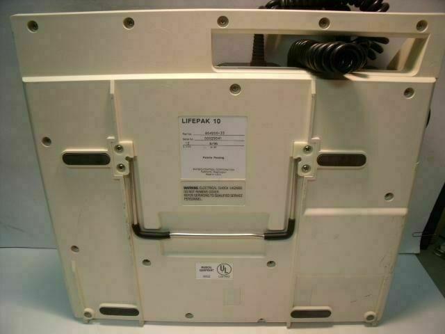 PHYSIO-CONTROL LIFEPAK 10     Monitor