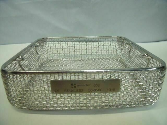 SYMETRY 608 50-8506 120 SILVER INSTRUMENT TRAY