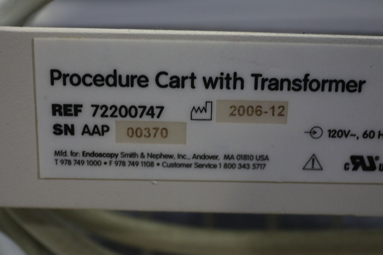 SMITH & NEPHEW 72200747 Pharmacy/Med Cart