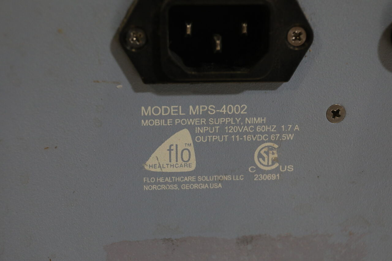FLO HEALTHCARE SOLUTIONS MPS-4002 Power Supply