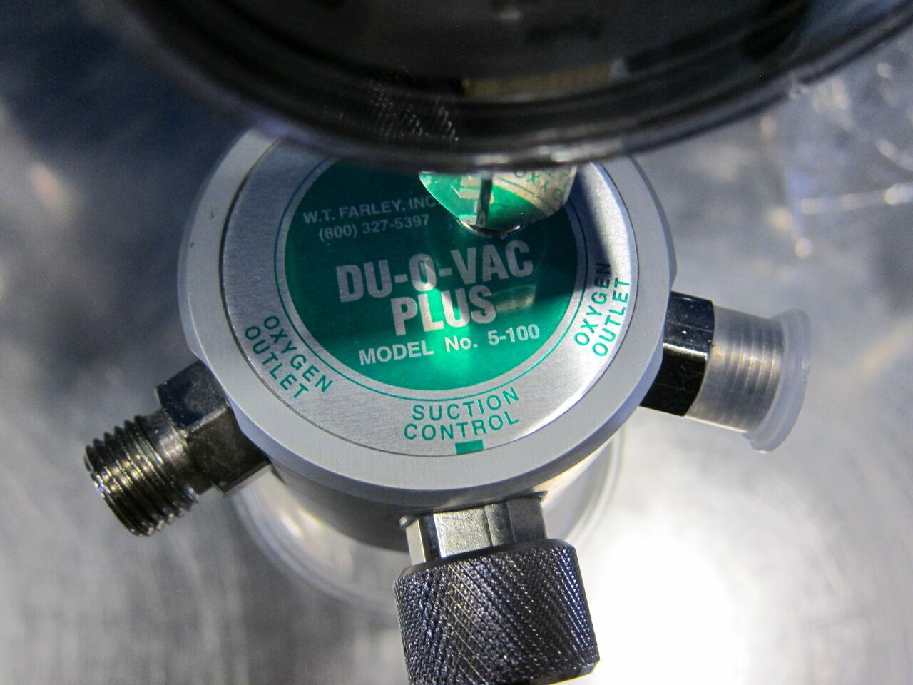 WT FARLEY INC Duo Vac Plus Vacuum Equipment
