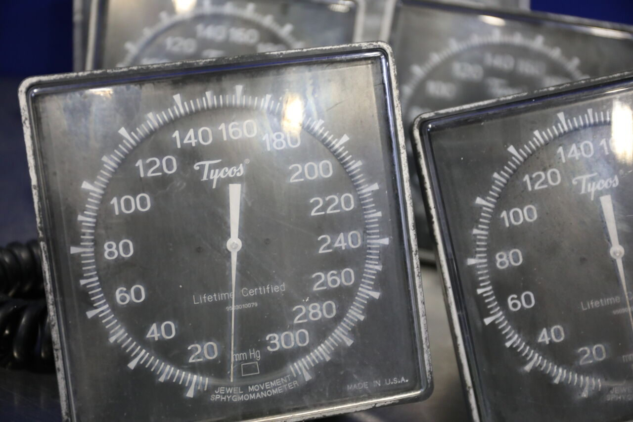 TYCOS Jewel Movement  - Lot of 7 Sphygmomanometer