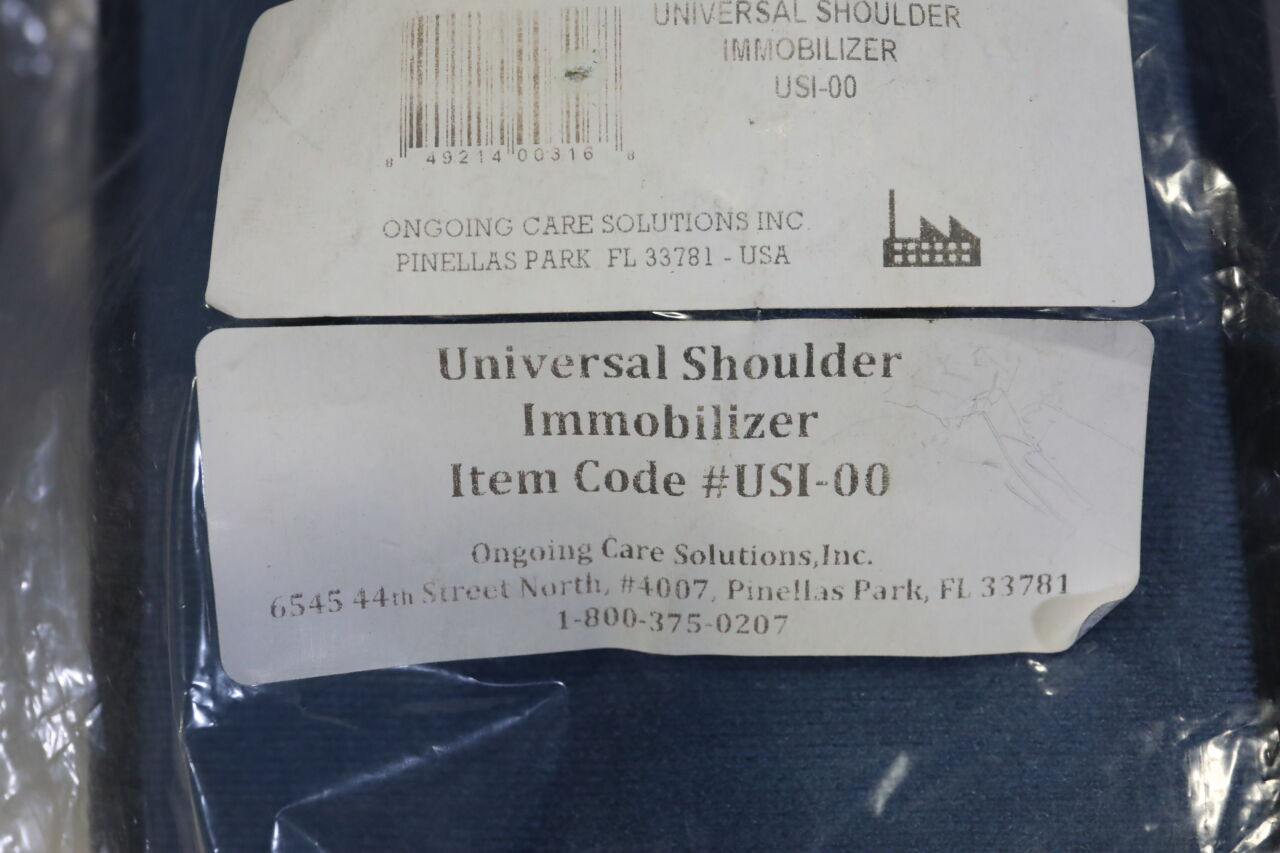 ONGOING CARE SOLUTIONS USI-00 Shoulder Immobilizer - Lot of 2
