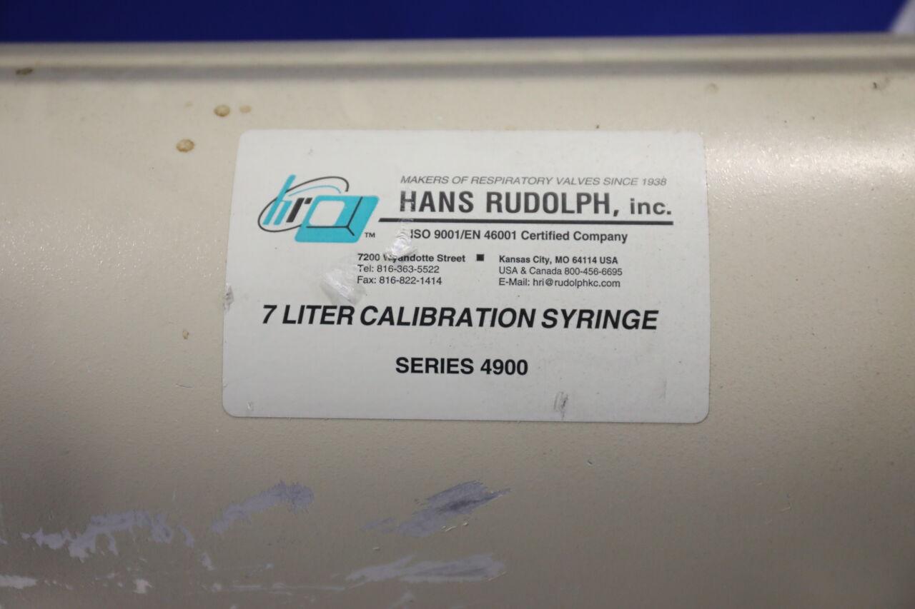 HANS RUDOLPH INC 4900 Dose Calibrator