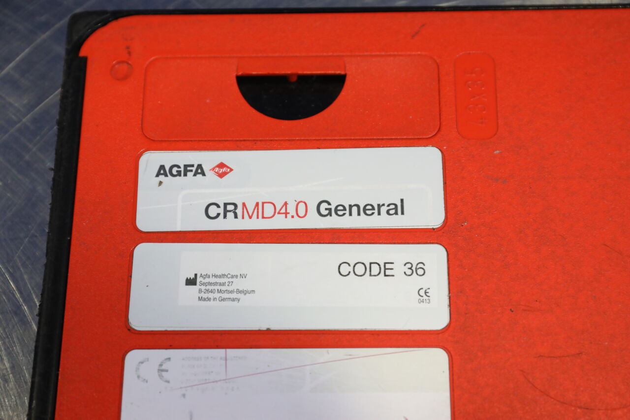 AGFA CRM4.0  - Lot of 2 CR Cassettes