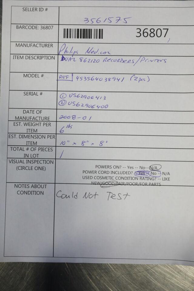 PHILIPS Dual 862120 Recorder