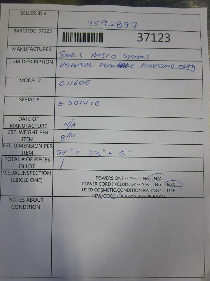 STERIS AMSCO C1160E Surgical Cases