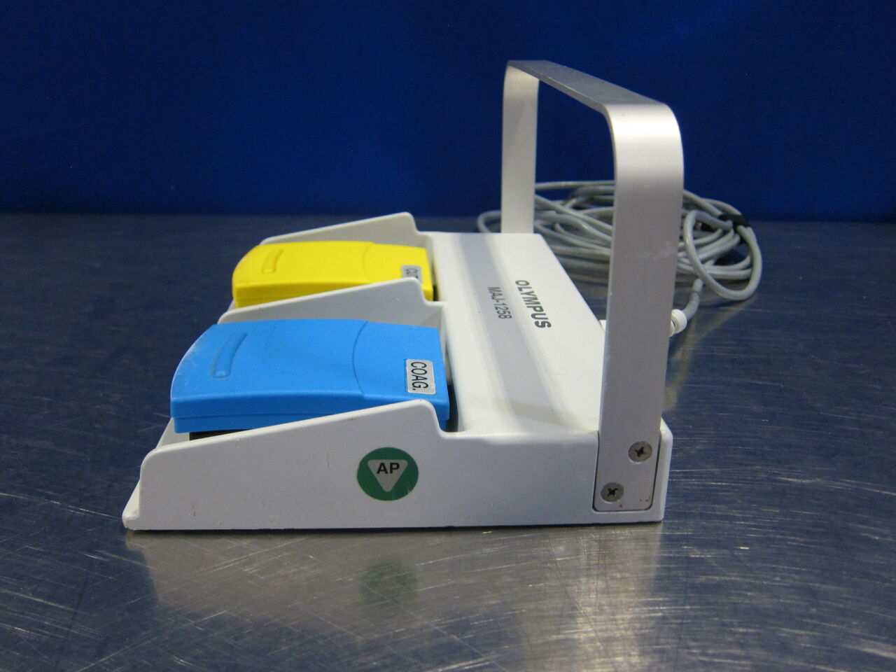 OLYMPUS MAJ-1258 Dual Foot Pedal for Electrosurgical Unit