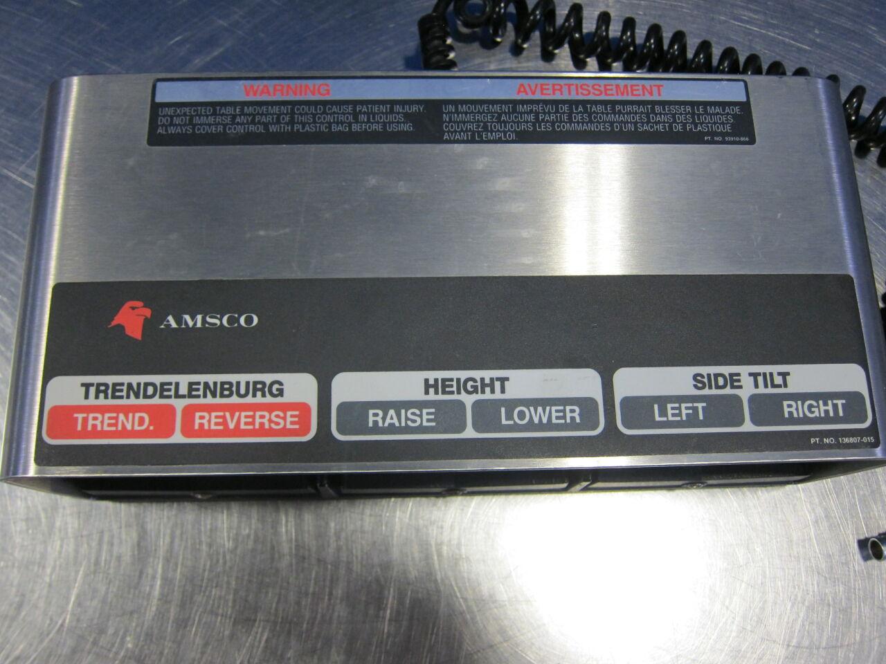 AMSCO 3 Way Foot Pedal
