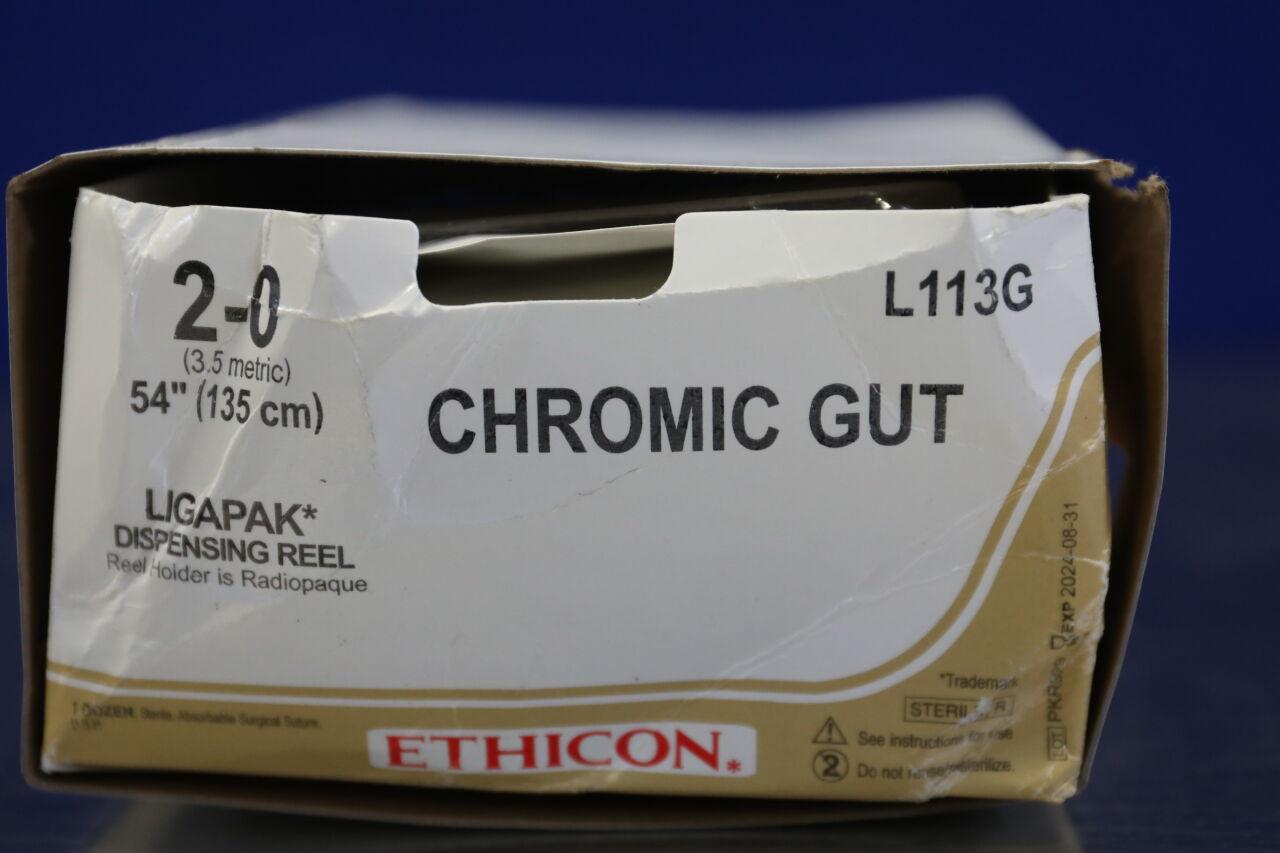 ETHICON Chromic Gut Sutures