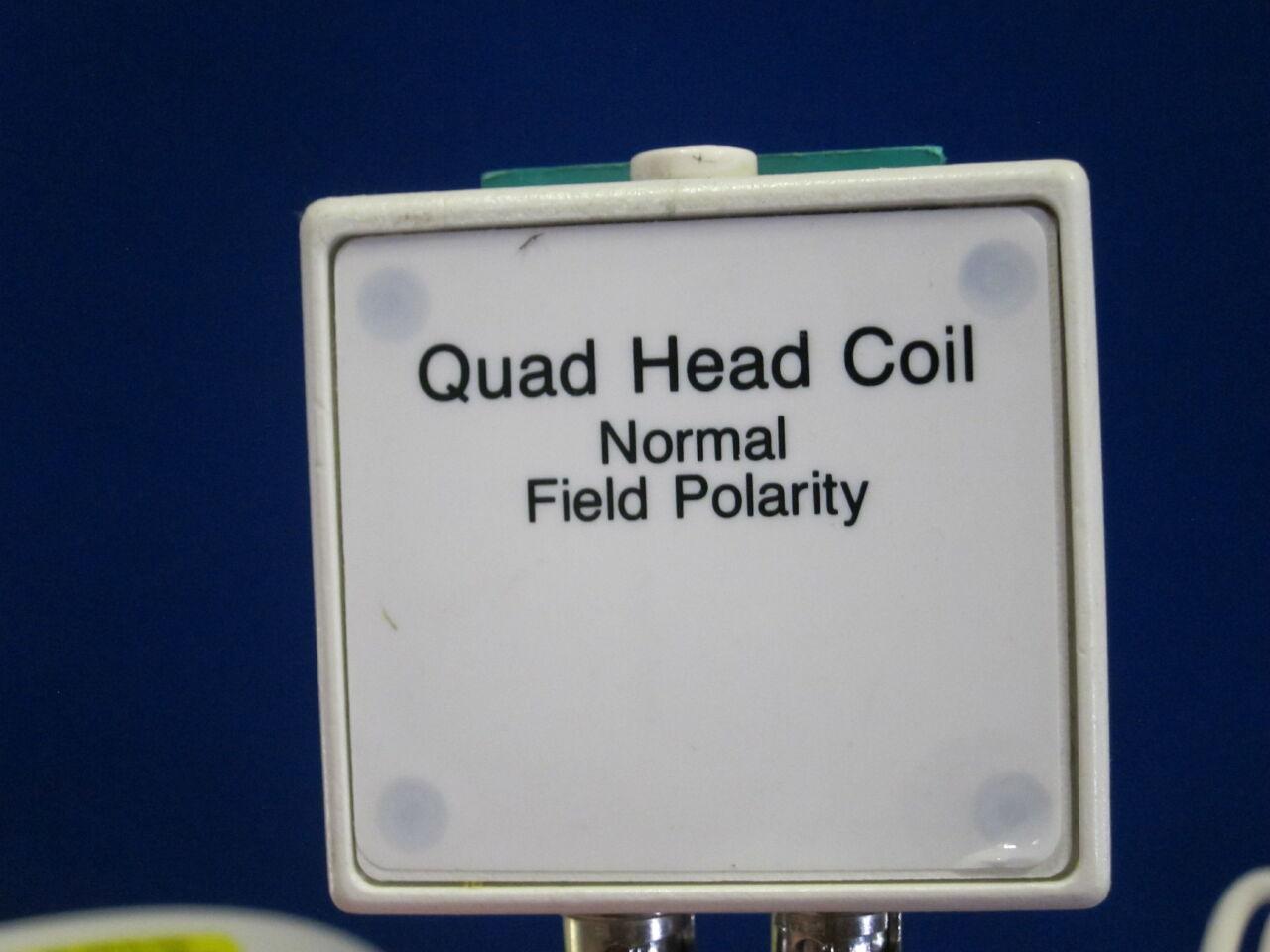MEDICAL ADVANCES Quad Head MRI Coil