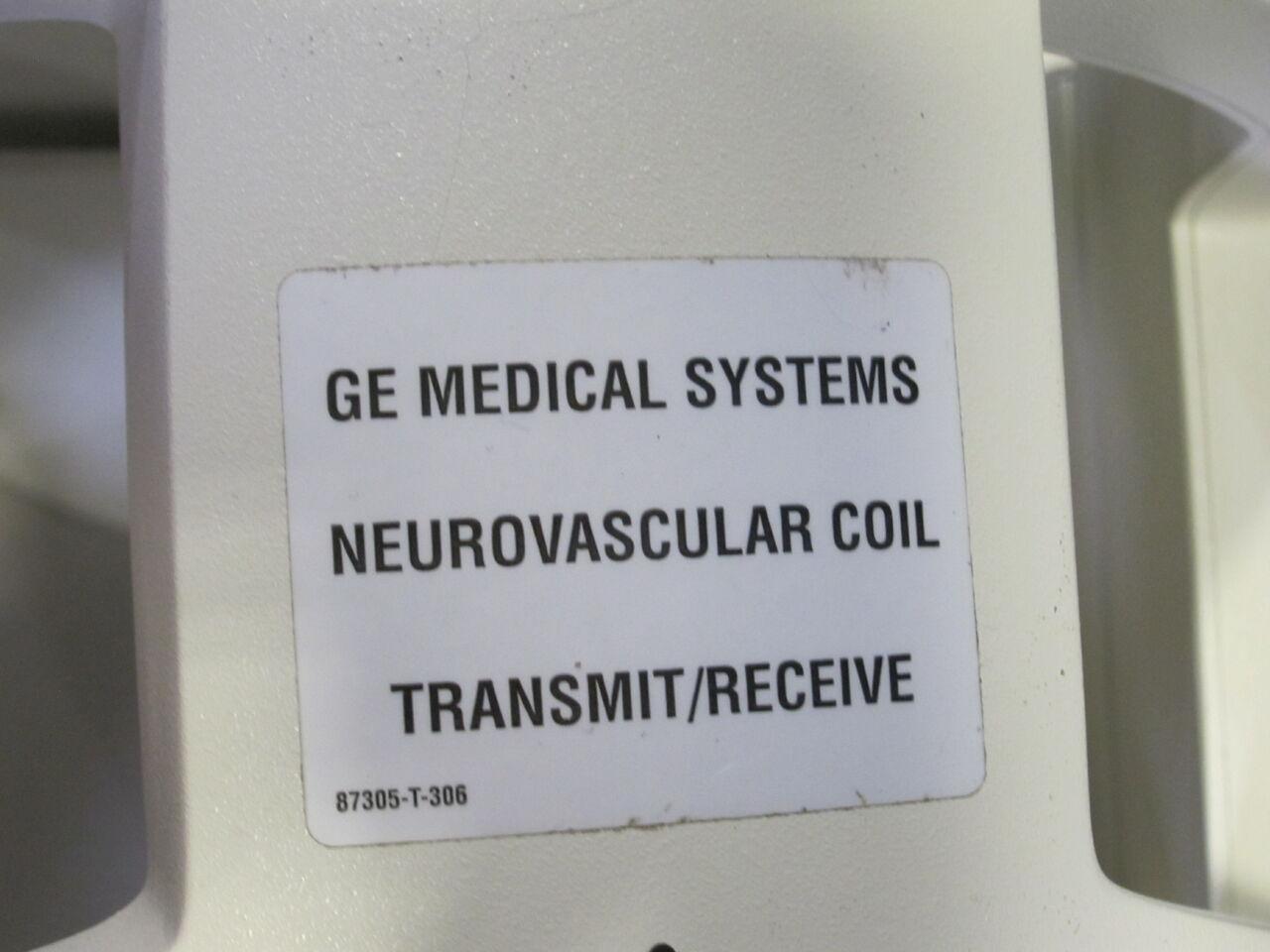 GE Signa 1.5 T Neurovascular MRI Coil