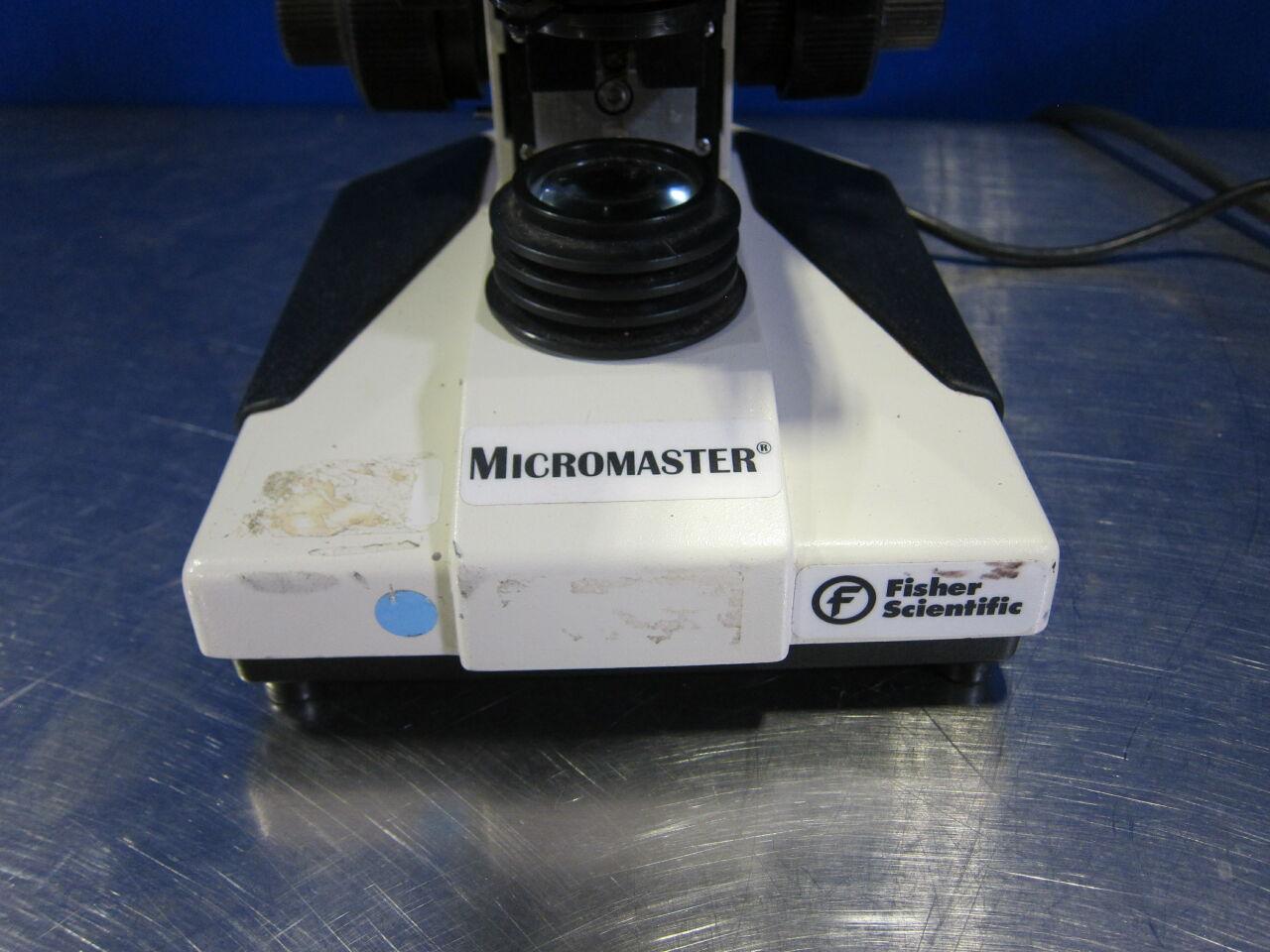 FISHER SCIENTIFIC Micromaster Microscope