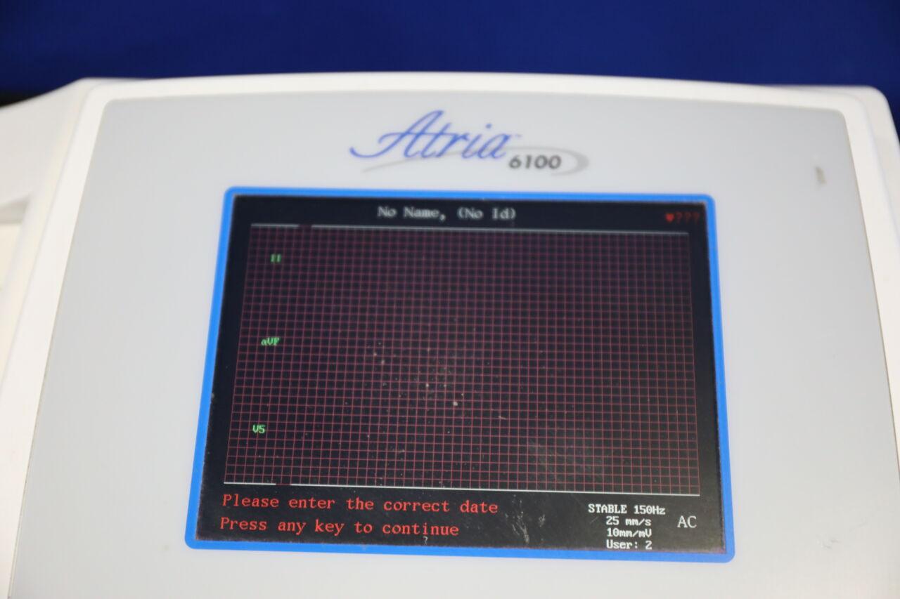 BURDICK Atria 6100 EKG