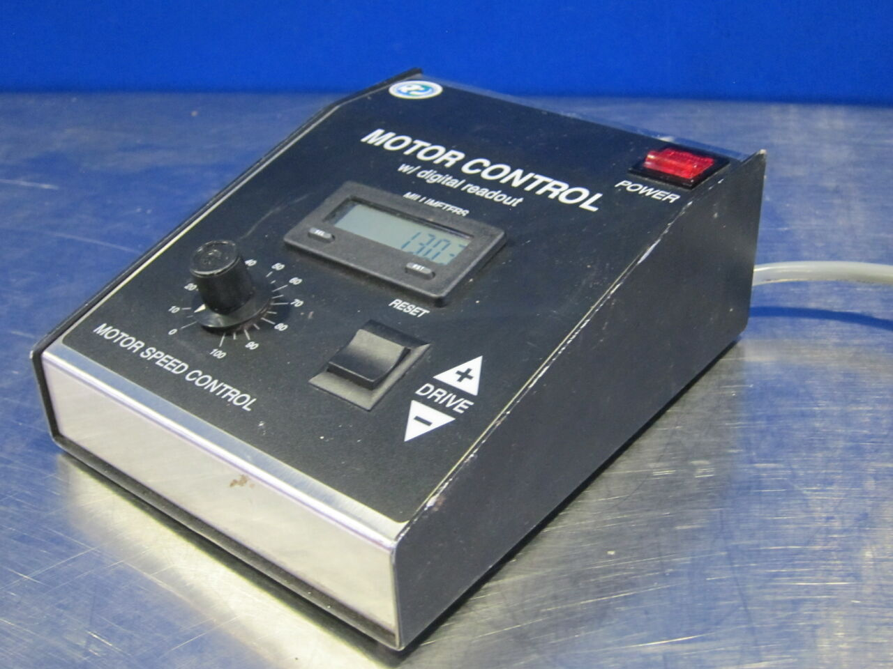 RADIATION PRODUCTS DESIGN 691-060 Motor Control w/ Digital Readout