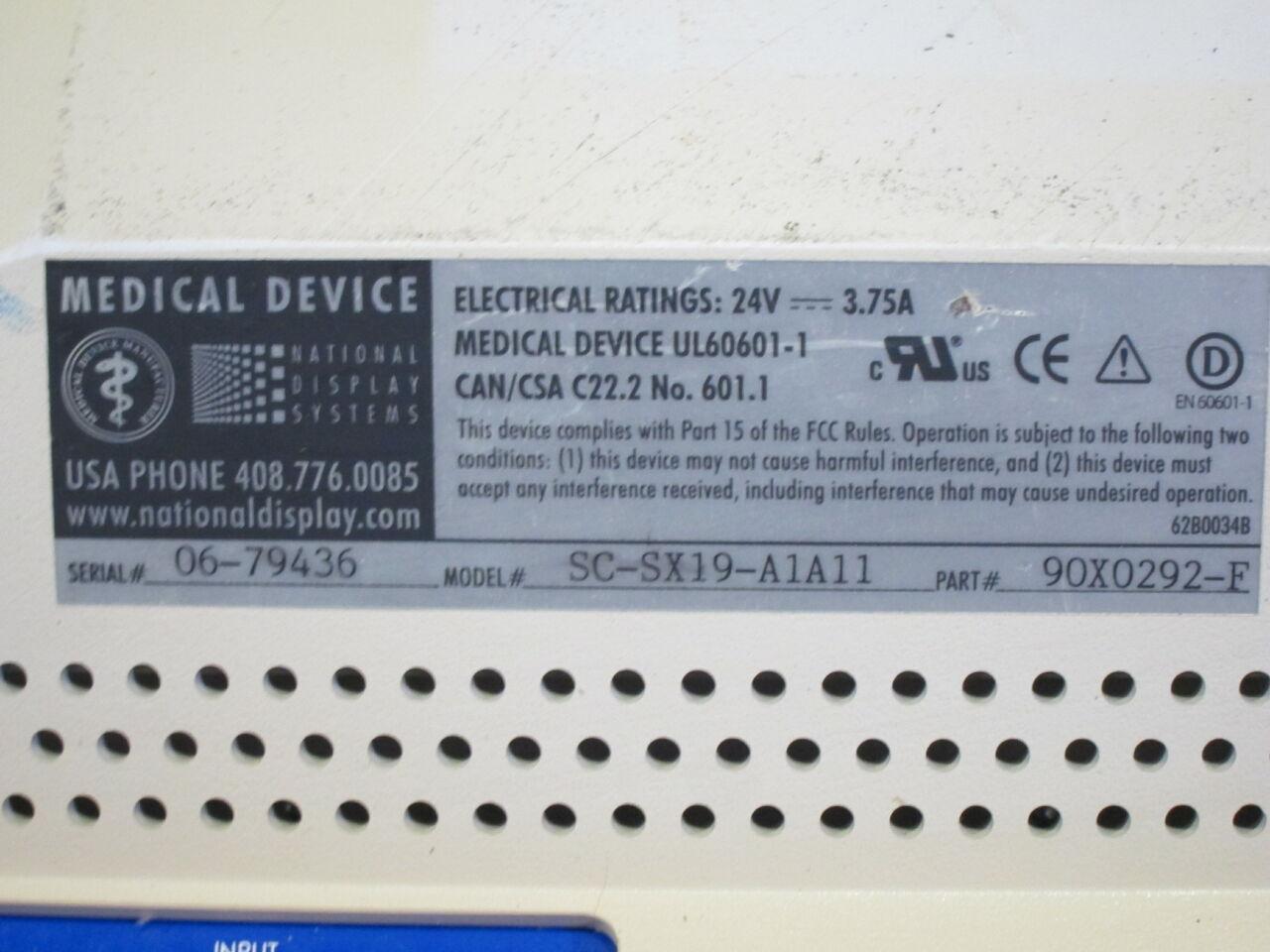 KARL STORZ SC-SX19-A1A11 Display Monitor