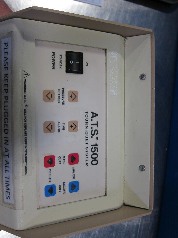 ZIMMER ATS 1500 Tourniquet System