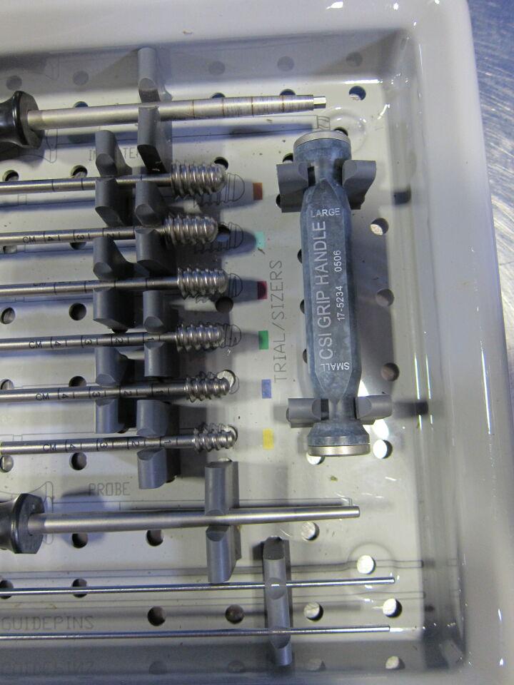 FUTURA BIOMEDICAL CSI Conical Subtalar Implant System