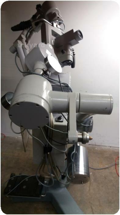 CARL ZEISS Superlux 300 Fiber Optic Illumination System & OPMI CS-NC Surgical Microscope