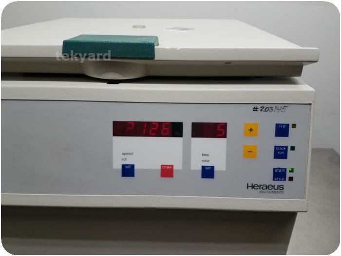 HERAEUS Megafuge 1.0 75003492/01 Centrifuge